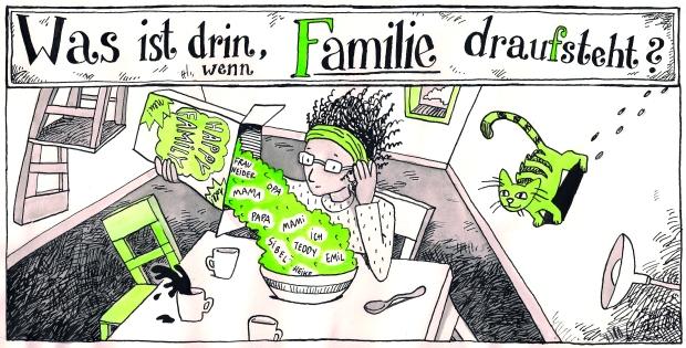 Buchstabe F im ABC-Buch machtWORTE!: Was ist drin, wenn Familie draufsteht?